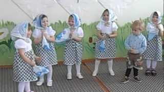 """Танец """"Матрешки"""" в детском саду"""