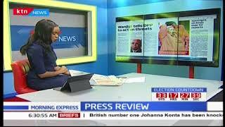 Jimmy Wanjigi tells DPP to act on threats against his life