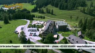 preview picture of video 'Helikopter Tours Austria - Hubschrauberrundflüge'
