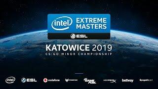 🔴LIVE: [Vietnamese] IEM Katowice 2019 - CIS + EU Minor - Stream A