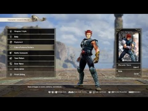 Soul Calibur 6 - Character Creation - Lion-O - смотреть онлайн на