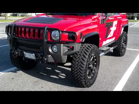 """2006 Hummer H3 w/ 4"""" Lift Kit, 20"""" Wheels, The Tires 35's Magnaflow Exhaust"""