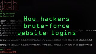 How Hackers Can Brute-Force Website Logins