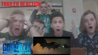 Godzilla: King of the Monsters Trailer 2 REACTION (HUGE NERDGASMS)
