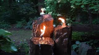 Fire and Water 3-piece Basalt Torch System