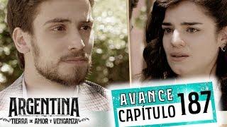 """Avance emitido el martes 4 de diciembre de 2019 en eltrece, correspondiente al capítulo 187 de """"Argentina, tierra de amor y venganza""""."""