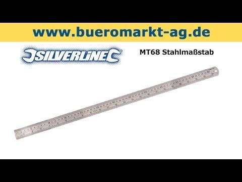 Silverline MT68 Stahlmaßstab