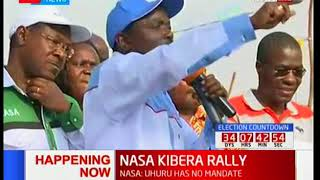 NASA co-principal Kalonzo Musyoka demands nothing short of a prosecution to the IEBC hackers