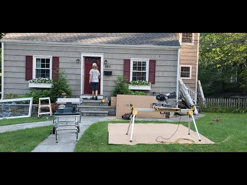 The Burr carpentry team removed three existing doors at this home in Stamford, CT, replacing them with brand new Therma Tru doors. Watch as Brian and John get the job done!