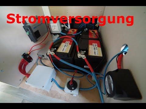 Camper Ausbau Folge 6 /  12V Stromversorgung / 230v Aussensteckdose
