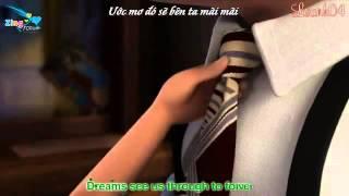 [Vietsub + Karaoke] If We Hold On Together  Diana Ross (Clip Lãng Mạn Nhất Quả Đất)