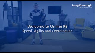 video: Join in with free online PE lessons: speed, agility and coordination