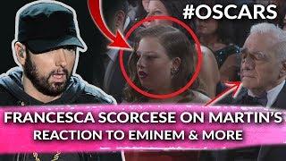 Francesca Explains Martin Scorcese's Reaction To Eminem Oscar Performance, Tweep Stays Pressed