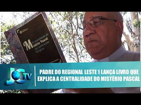 Reportagem sobre lançamento do livro de Mons. Guedes