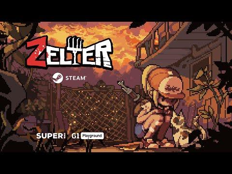 像素風生存喪屍遊戲《Zelter》
