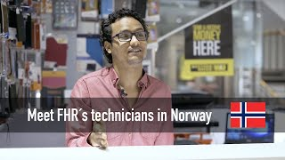 Meet Mohammed technician from Norway