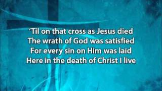In Christ Alone - Adrienne Liesching and Geoff Moore (with lyrics)