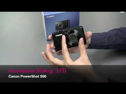 Canon PowerShot S90 - First Impression Video by DigitalRev