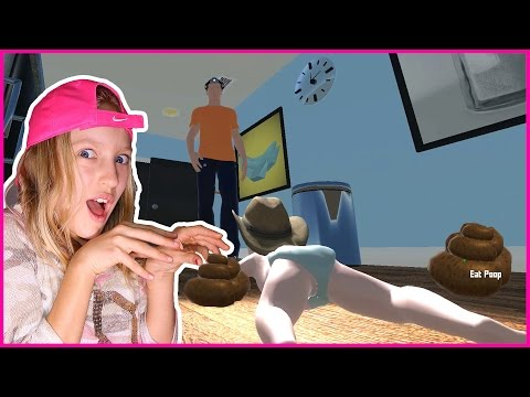 Baby Eats Cat Poop ft. FREDDY / Who's Your Daddy