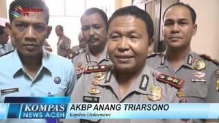PERWIRA POLISI TES URINE  KOMPAS NEWS ACEH 23/03/2016