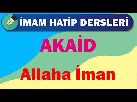 Akaid   11.Sınıf   3.Ünite   Allaha İman   +PDF