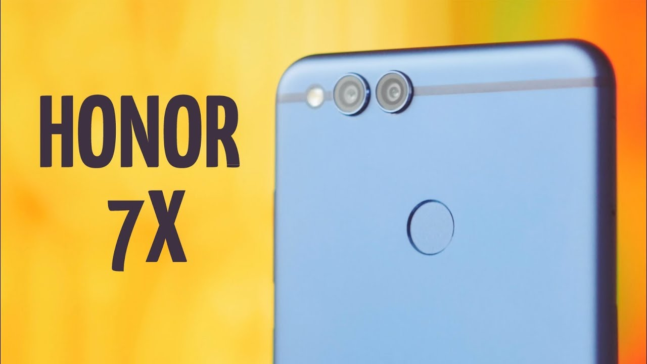Honor 7X 4/64Gb Blue (BND-L21) video preview