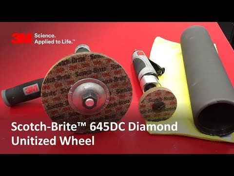 Scotch-Brite™ 645DC Diamond Unitized Wheel