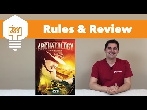 JonGetsGames - Archaeology: New Expedition Review
