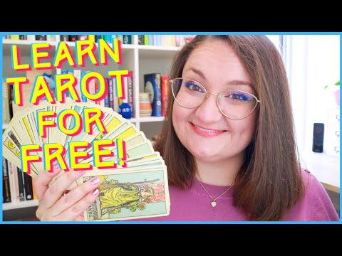 HOW TO READ TAROT CARDS FOR FREE! ✨ Top 10 Online Resources to Learn Tarot for Beginners!