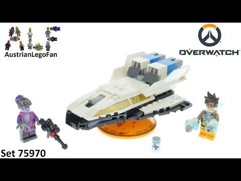 Vidéo LEGO Overwatch 75970 : Tracer contre Fatale