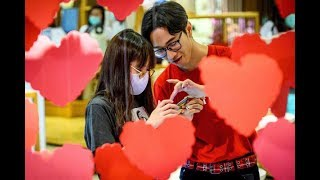 Love in the time of coronavirus: A quiet Valentine's Day in China - VIDEO
