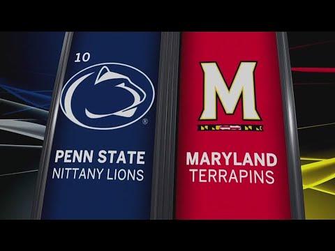 Penn State at Maryland - Football Highlights