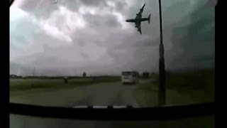 preview picture of video 'Crazy Boeing 747-400 Crash, Bagram Air Base, Afghanistan'