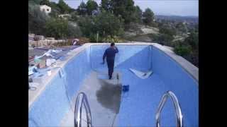 preview picture of video 'Todo tipo de servicios para tu piscina: construccion, reparación, mantenimiento...'