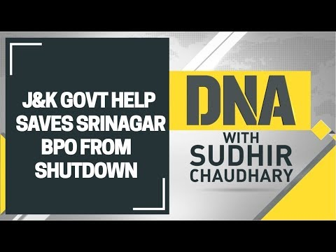 DNA: Jammu and Kashmir govt bails out private BPO in Srinagar to prevent job losses