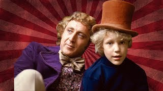 WILLY WONKA & THE CHOCOLATE FACTORY ? THEN AND NOW 2019