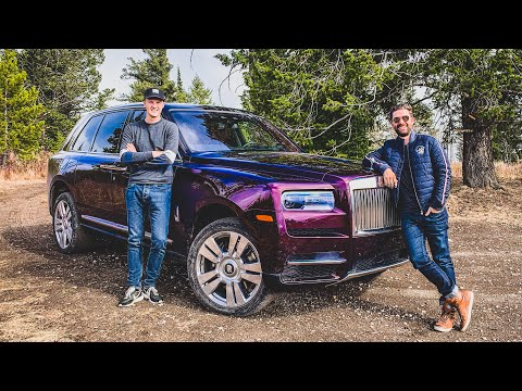 The Rolls Royce Cullinan Is The Most Luxurious Way To Go Off Road!
