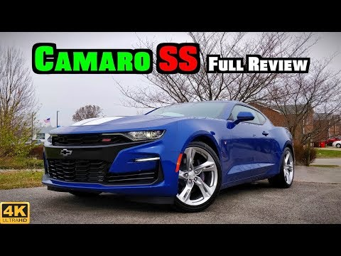 2019 Chevy Camaro SS: FULL REVIEW + DRIVE | The Camaro Transformed!