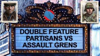COH2 FPV Partisans vs Assault Grenadiers - Double Feature