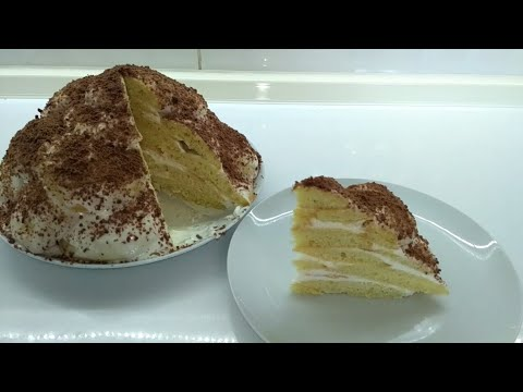 """Торт """"Черепаха"""" со сметанным кремом /Простой рецепт"""