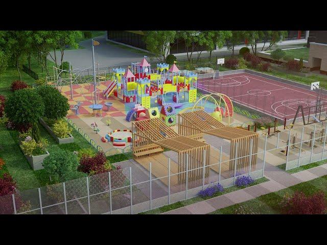 В Приангарье благоустроили более 1200 общественных пространств и дворовых территорий