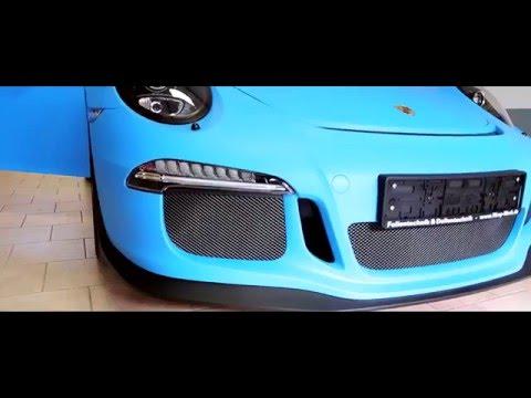 Komplettfolierung Porsche GT3