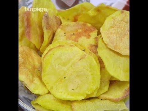 Patatine al microonde: lo spuntino croccante e dietetico