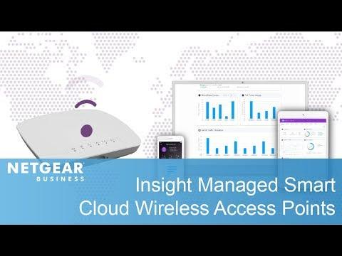 WAC505 Insight Managed Smart Cloud Wireless Access Point AC1200