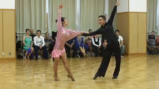 社交ダンス ルンバ 優勝 第19回ヤングサークル10ダンス選手権 草の根サークル競技会