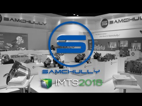 Samchully Workholding at IMTS 2018