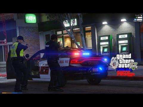 LIVE: GTA 5 LSPDFR vRP/FiveM Bait Car Police Roleplay - смотреть