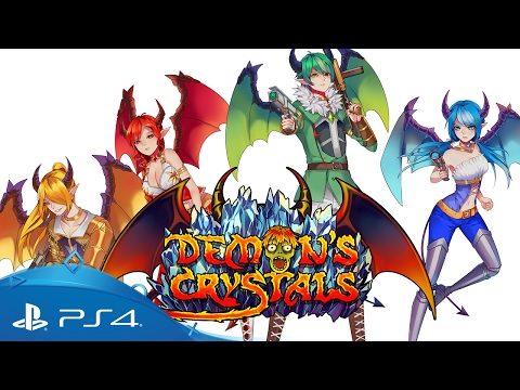 Demon's Crystals | Launch Trailer| PS4 thumbnail