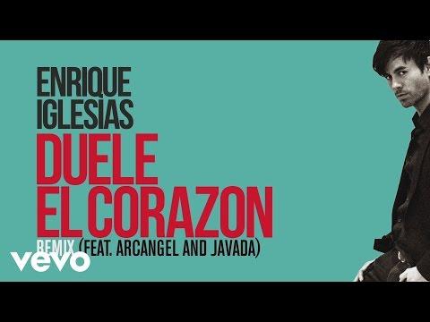 Enrique Iglesias - DUELE EL CORAZON (Remix)[Lyric Video] ft. Arcángel, Javada