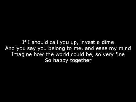 Weezer - Happy Together Lyrics